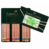 60 Pitt Pastel Pencils in Tin