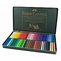 60 Polychromos Pastels in Tin