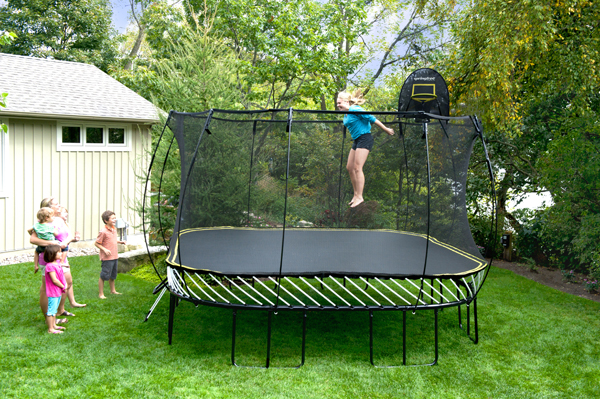 Springfree Large 11 Square Trampoline W Tgoma System