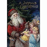 A Joyous Christmas 40 PC Wooden Puzzle