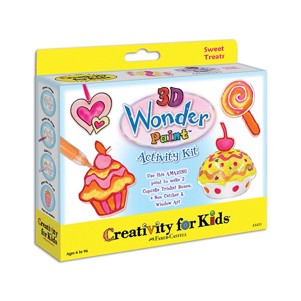3D Wonder Paint Activity Kit Sweet Treats