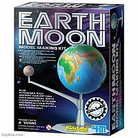 Earth & Moon Model Kit
