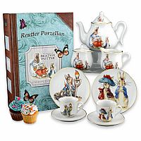 Beatrix Potter Large Tea Set in Book Box