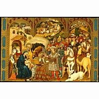 Adoration of the Magi 40 PC Wooden Puzzle