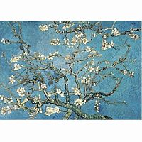 Almond Blossom 40 PC Wooden Puzzle