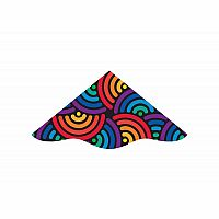 "48"" Nylon Delta Kite - Swirls"