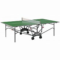 RIGA INDOOR Green Table Tennis Table