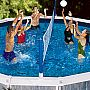 Jammin' Above Ground Pool Volleyball 20' Wide