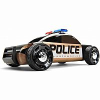 Automoblox S9 Black Police Car