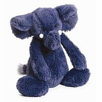 Bashful Blue Elephant Medium 12""