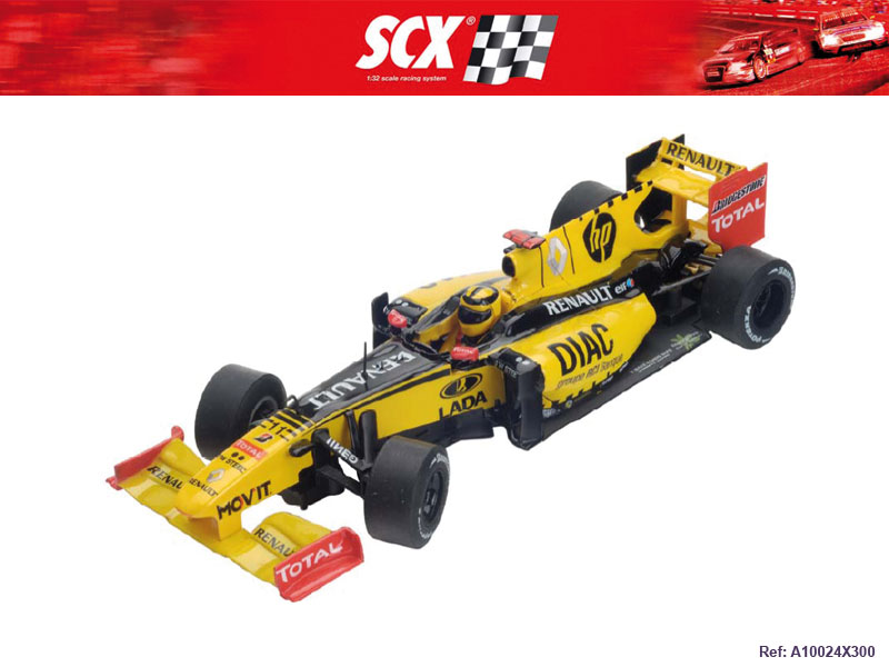 Scx Renault F1 Kubica Analog Slot Car Stevensons Toys