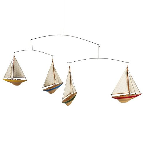 A-Cup Sailboat Mobile