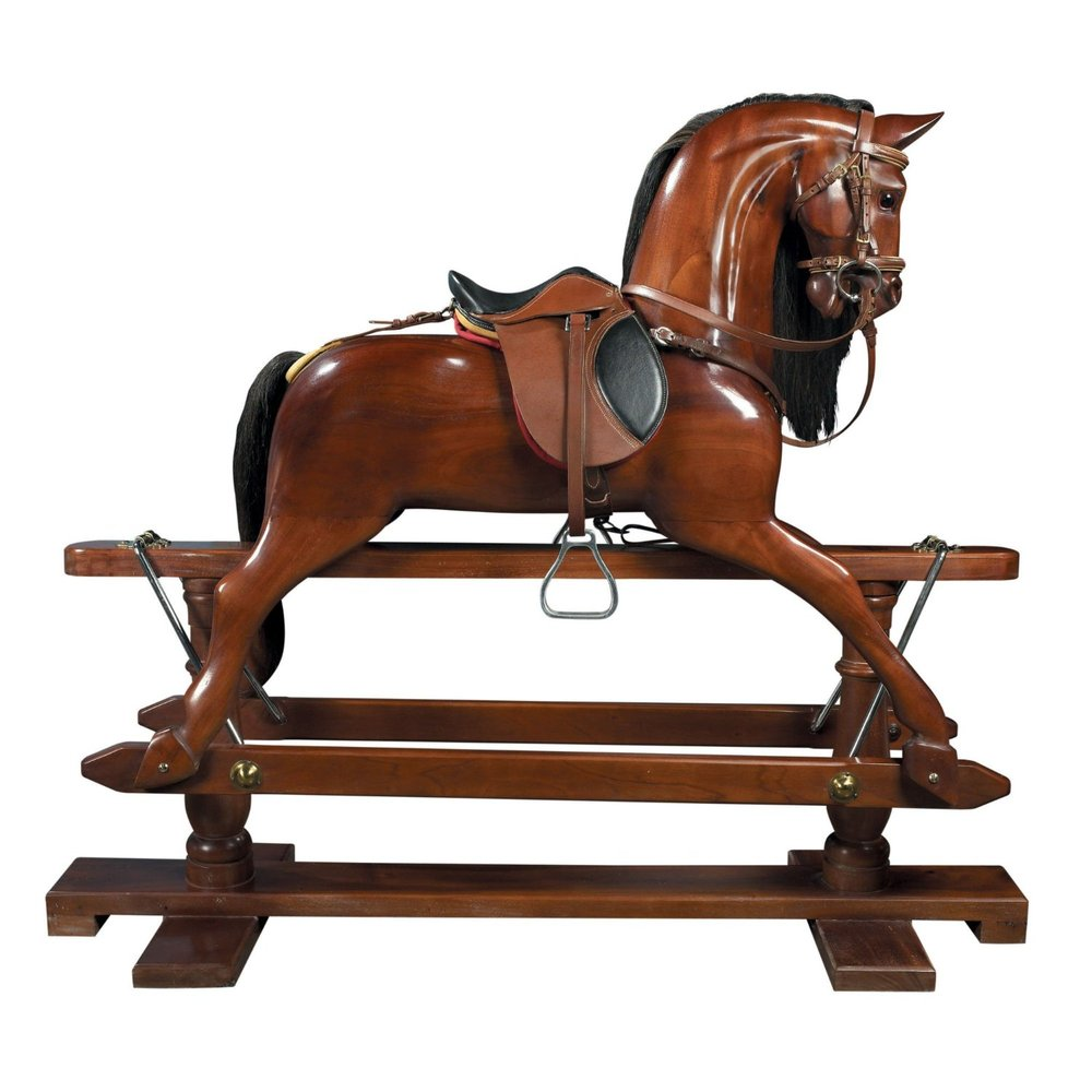 Heirloom Wooden Rocking Horse Stevensons Toys
