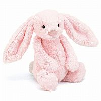 Bashful Bunny Pink with Chime Medium 12""