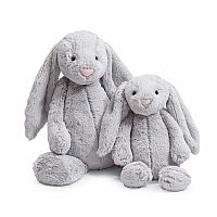 Bashful Bunny Grey Medium 12""