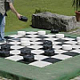 8' x 8' Outdoor Chess/Checker Board
