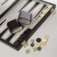 Backgammon, Black Croc 15""