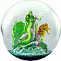100mm Snow Globe Mermaid