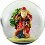 100mm Snow Globe St. Nick