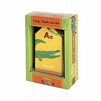 Animal ABC's Ring Flash Cards