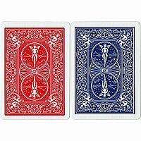 1 Deck Bicycle Rider Back Playing Cards Red or Blue
