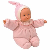 Babipouce Pink Striped Doll