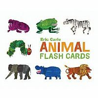 Eric Carle Animal Alphabel Flash Cards