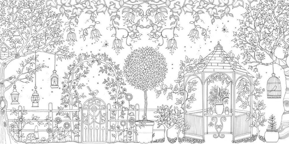 - Secret Garden Coloring Book - Stevensons Toys