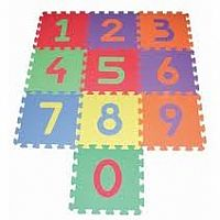 Edu Tiles - Numbers - 10 Pc