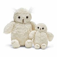 Woodland Babe Owl Cream Medium