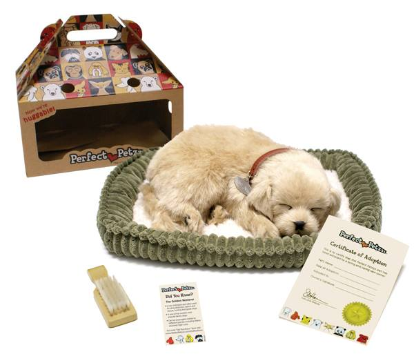 Fake Toy Dogs : Perfect petzzz golden retriever stevensons toys