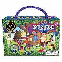 Bear on Bicycle 20Pc Puzzle
