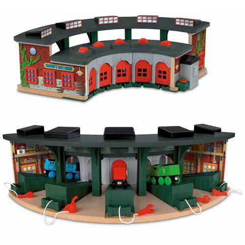 Deluxe Roundhouse Set - Stevensons Toys