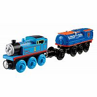 Battery Operated Thomas Train with Booster Steam Car